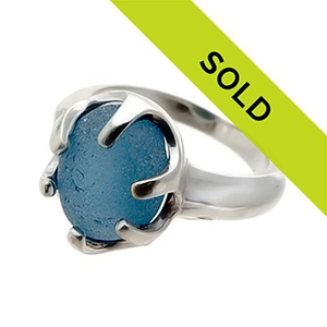 Sold Sea Glass Rings